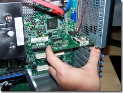Adding the card to the Dell Server